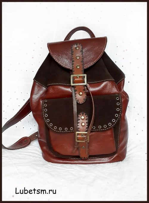 Коричневый рюкзак